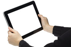 Geïsoleerdei tablet. Stock Foto's