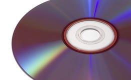 Geïsoleerdej DVD Royalty-vrije Stock Foto