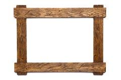 Geïsoleerdej het frame van de foto Stock Foto