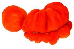 geïsoleerdej tomaat 2 Stock Afbeeldingen
