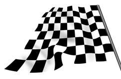 Geïsoleerdek geruite vlag Royalty-vrije Stock Fotografie