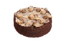 Geïsoleerdel cake Stock Afbeeldingen