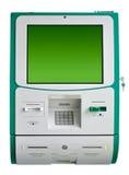 Geïsoleerdel de machine van ATM Stock Afbeelding