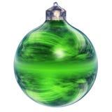 Geïsoleerdel de ornamenten van Kerstmis Royalty-vrije Stock Afbeeldingen