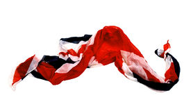 Geïsoleerdel de sjaal van Colorfull Stock Afbeelding