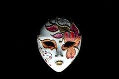 Geïsoleerdel het masker van Carnaval Royalty-vrije Stock Afbeeldingen