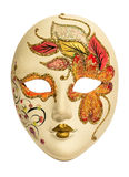 Geïsoleerdel het masker van Carnaval Royalty-vrije Stock Foto