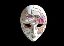 Geïsoleerdel het masker van Carnaval Stock Foto's