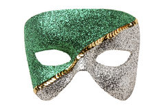 Geïsoleerdel het masker van Carnaval royalty-vrije stock fotografie