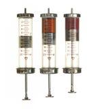 Geïsoleerdel injectie - Stock Foto