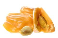 Geïsoleerdel Jackfruits Stock Afbeeldingen