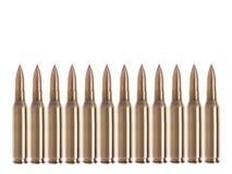 Geïsoleerdel kogels Royalty-vrije Stock Foto's
