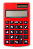 Geïsoleerdem Calculator Royalty-vrije Stock Foto's