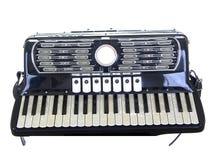Geïsoleerdem Harmonika   royalty-vrije stock afbeelding
