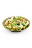 Geïsoleerdem salade Stock Fotografie