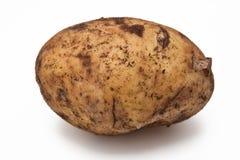 Geïsoleerden aardappel Stock Foto