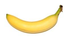 Geïsoleerden banaan Royalty-vrije Stock Afbeelding