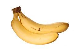 Geïsoleerden bananen Stock Afbeelding