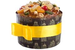 Geïsoleerden de close-up van het dessertpaskha van Pasen Royalty-vrije Stock Afbeelding