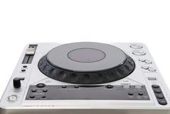 Geïsoleerden de mixer van DJ Royalty-vrije Stock Afbeeldingen