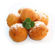 Geïsoleerden doughnuts stock afbeeldingen