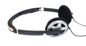 Geïsoleerden hoofdtelefoons Stock Afbeelding