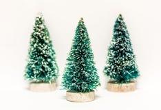 Geïsoleerden kerstboom Royalty-vrije Stock Fotografie