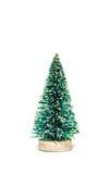 Geïsoleerden kerstboom Stock Afbeeldingen