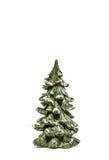 Geïsoleerden kerstboom Stock Foto