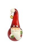 Geïsoleerden kerstman Royalty-vrije Stock Fotografie