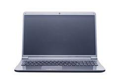 Geïsoleerden laptop computer stock foto