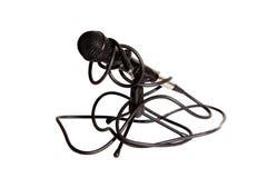 Geïsoleerden studiomicrofoon Royalty-vrije Stock Afbeelding