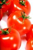 Geïsoleerden tomaat royalty-vrije stock afbeeldingen