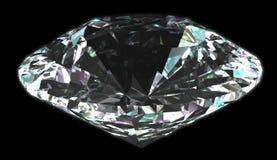 Geïsoleerden witte diamant Stock Fotografie