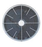 Geïsoleerdeo airconditionerventilator Stock Foto