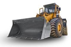 Geïsoleerdeo bulldozer Stock Fotografie