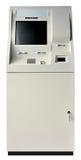 Geïsoleerdeo de machine van ATM Stock Afbeeldingen