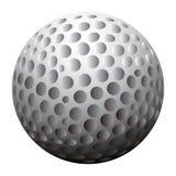 Geïsoleerdeo Golfbal royalty-vrije illustratie