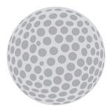 Geïsoleerdeo Golfbal vector illustratie