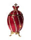 Geïsoleerdeo het Ei van Faberge Stock Afbeeldingen
