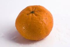 Geïsoleerdeo het fruit van de mandarijn Stock Foto's