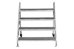 Geïsoleerdeo ladder Stock Afbeelding