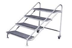 Geïsoleerdeo ladder Royalty-vrije Stock Foto