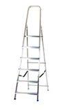 Geïsoleerdeo ladder Stock Fotografie