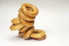 Geïsoleerdeo ongezuurde broodjes Stock Foto