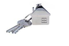 Geïsoleerdeo sleutels Stock Foto