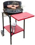 Geïsoleerdep het toestel van de barbecue Stock Afbeeldingen