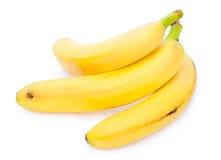 Geïsoleerder bananen royalty-vrije stock foto's