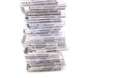 Geïsoleerder CDs stock fotografie