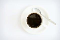 Geïsoleerder de kop van de koffie royalty-vrije stock afbeeldingen